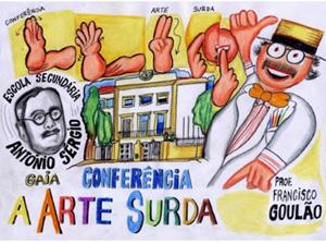 """Convite – Conferência: """"A Arte Surda"""""""