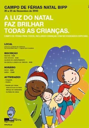 Campo de Férias Natal BIPP
