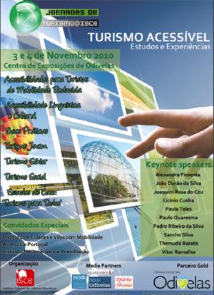 Jornadas de Turismo do ISCE 2010 – Turismo Acessível: Estudos e Experiências